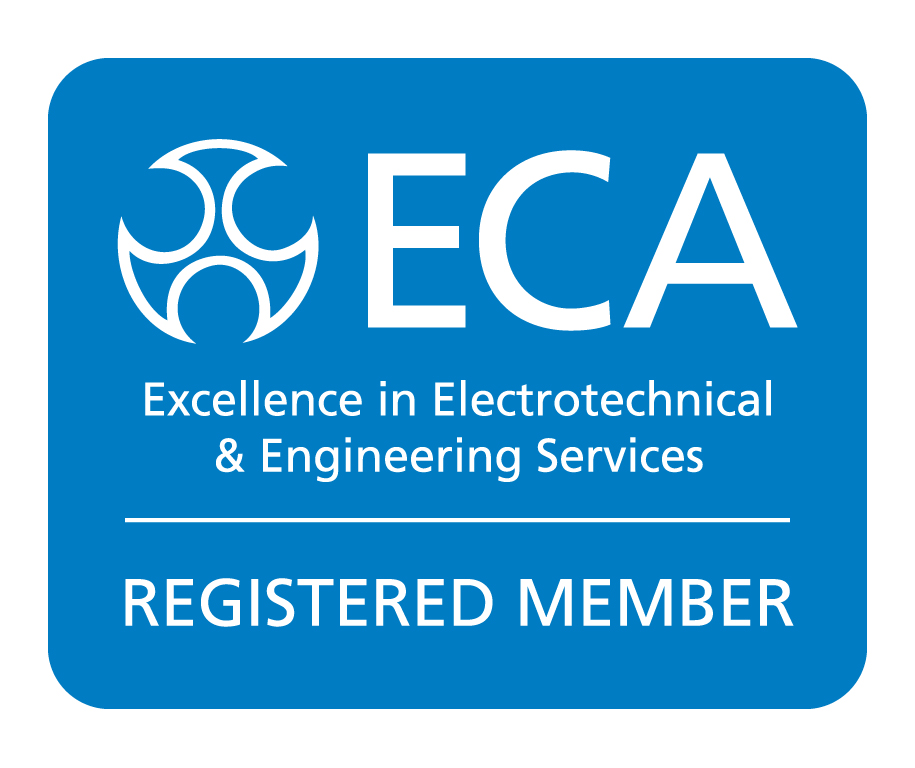 ECA Reg Mem Logo Strap Blue